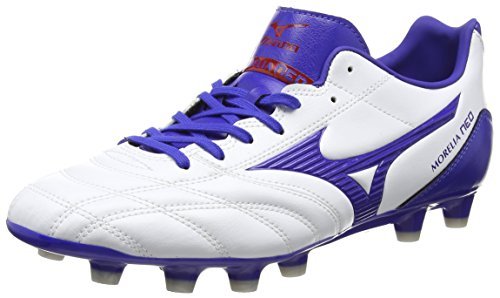 Mizuno Morelia Neo UT Md Herren Rugbyschuh White (White/Surf The Web/Chinese Red)