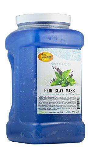 Spa Redi Pedi Clay Mask (Mint & Eucalyptus, 1 Gallon) Redi Care