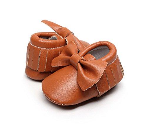 AngelaKerry - Zapatos primeros pasos de Otra Piel para niño marrón