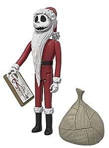 Funko Reaction The Nightmare Before Christmas Santa Jack Skellington Toy Figure