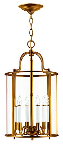 Hinkley 3478HR Traditional Six Light Foyer from Gentry collection in - Gentry Pendant Foyer