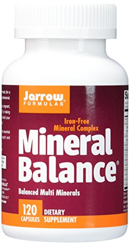 Jarrow Formulas Mineral Balance, Supports Maintenence For Optimal Health, 120 Capsules