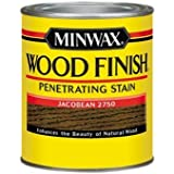 Minwax 70014444 Wood Finish Penetrating  Stain, quart, Jacobean