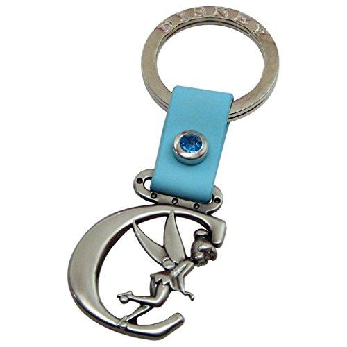 (Tinker Bell Letter C Pewter Key Chain)