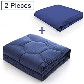 Amazon Com R Amp R Home Luxury Weighted Blanket With