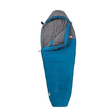 Men's The North Face Aleutian 20/-7 Sleeping Bag Striker Blue/Zinc Grey Size Regular