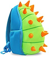Coavas Toddler Kids Backpack Fun Dinosaur Backpack Cute Blue- Gift For Toddlers