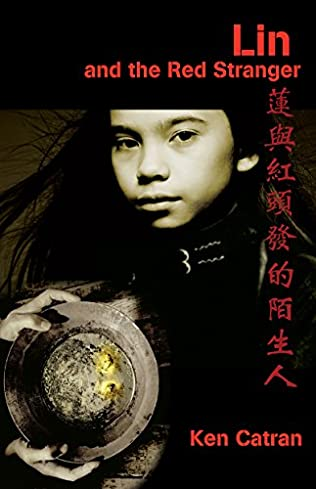 book cover of Lin and the red stranger