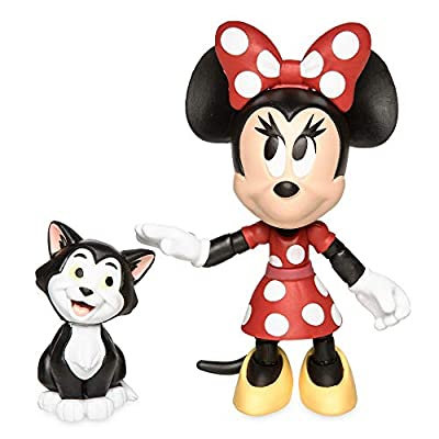 Disney Minnie Mouse and Figaro Action Figure Set Toybox
