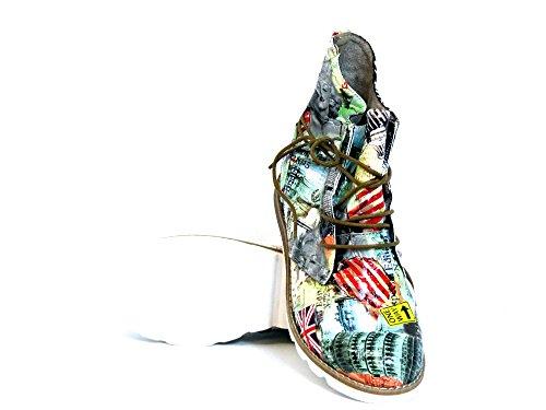 Sun 254184 amp; Boots Women beige kombi Ankle grau Shadow gg8U4Sr