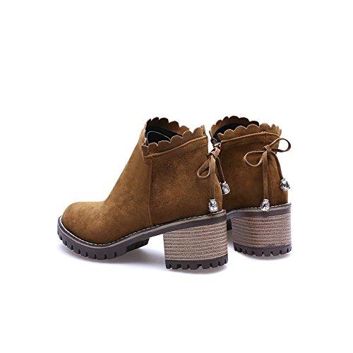 con 1TO9Mns02439 Cuña marrón 1TO9 Sandalias Mujer 6qCOFx7w1