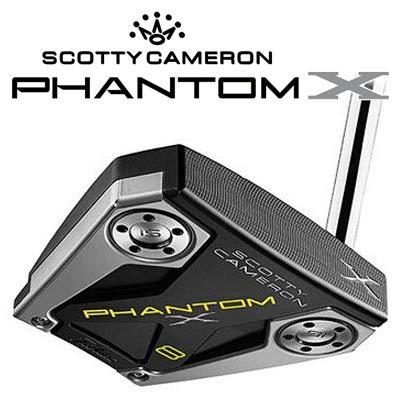 TITLEIST(タイトリスト) SCOTTY CAMERON (スコッティ キャメロン) 2019 PHANTOM X 8 (2019 ファントム X 8) パター メンズゴルフクラブ 右利き用 日本仕様正規品 35inch  B07Q22HBGN