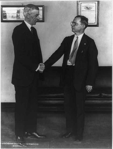 HistoricalFindings Photo: W. Carson Ryan,Jr,Director,Education,Bureau,Indian Affairs,Charles J Rhoads,1930