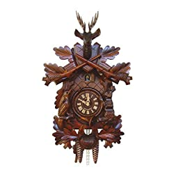 19 Traditional Cuckoo Clock with a Deer by Schneider