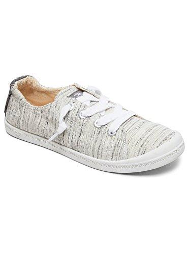 Grey Arjs600418 Heather Bayshore up Roxy Shoes Roxy Lace Womens Ra0q7