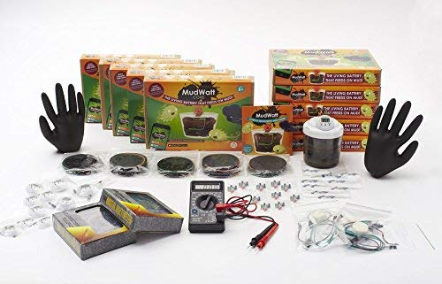 Magical Microbes MudWatt STEM Kit:  Clean Energy from Mud!  | Classroom/Party Pack
