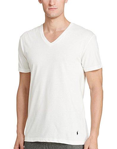 Polo Ralph Lauren 3-Pack V-Neck T-Shirt White LG