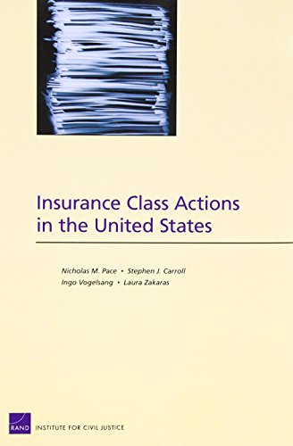 Download Insurance Class Actions in the United States Pdf