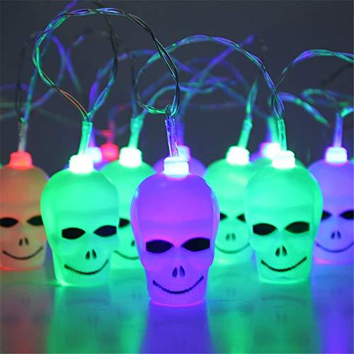 LED Outdoor Pumpkin faces shape Solar led string Light for Halloween decoration Color Lights by Businda