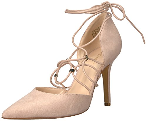 Nine West Women's Jingleton Fabric Pump Light Natural Fabric 6PzYcHB