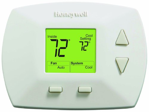 Honeywell RTH5100B 1025 Deluxe Manual Thermostat (Hvac Thermostat)