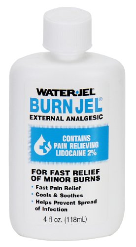Pac-Kit by First Aid Only BJ4-01 Water Jel Burn Jel, 4 oz Squeeze Bottle