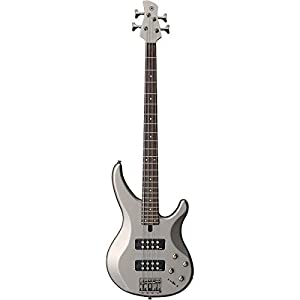 Yamaha 4-String Bass Guitar Right Handed, Pewter 4-String TRBX304 PWT