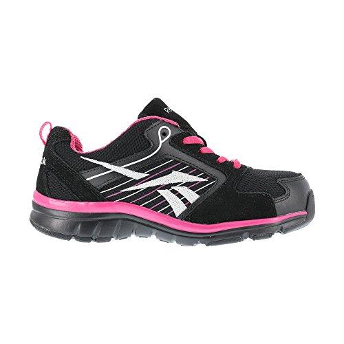 Anomar RB454 Work Shoe,Black/Pink,7 M US ()
