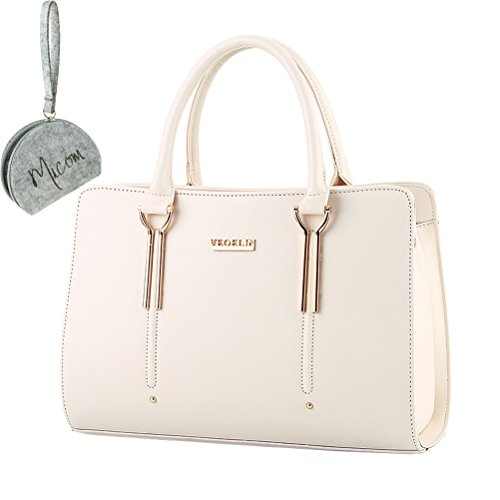 Leather And Patent Leather Tote Bag - 7