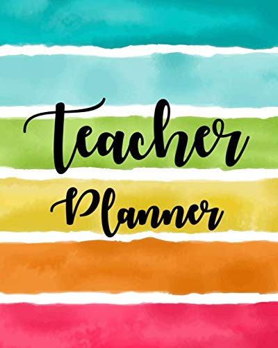 Lesson Planner for Teachers 2019-2020: Weekly and Monthly Teacher Planner, Time Management for Teachers, Academic Year Lesson Plan and Record Book (July 2019 - July 2020) (teacher planner book) ()