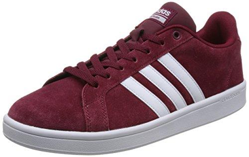 Escarl Sneaker Rot Adidas Herren Advantage Cloudfoam buruni Ftwbla 000 wq440H