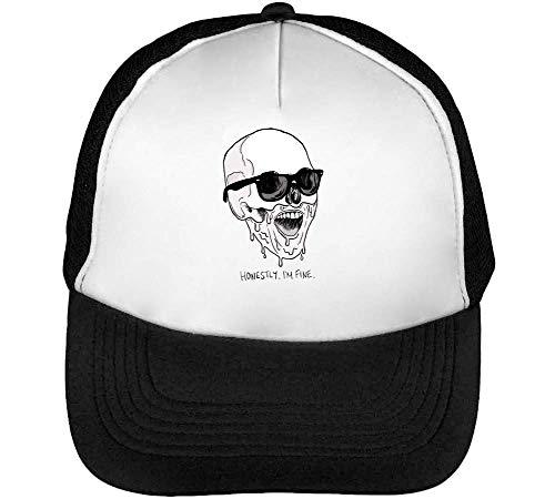 Gorras Blanco I'M Honestly Hombre Negro Snapback Beisbol 6R5AYqSw