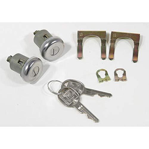Eckler's Premier Quality Products 55-195075 - El Camino Door Locks Late Style Keys