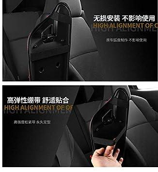 Innen ge/ändert armlehne box abdeckung f/ür CHR C-HR auto innen zentralen handgehalten box abdeckung schutz kissen abdeckung black