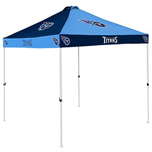 Logo Brands NFL Tennessee Titans Checkerboard Tent Checkerboard Tent, Titan Blue, One Size