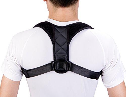 Posture Corrector,Adjustable Posture Support,Back Brace for Posture Correction for Women, Men, Kids, Design for Neck,Shoulder,Back Pain Relief, Bad Posture by SUVOM