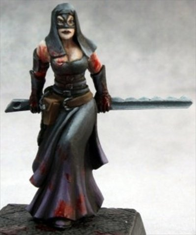 Reaper Miniatures 60153 Pathfinder Series Dungeon Torturer Miniature by Reaper