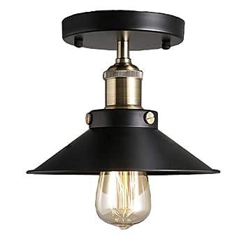 Plafón Vintage luces de techo Lustre Led lámpara de techo Loft ...