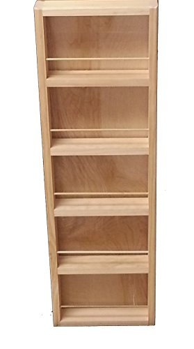 Wood Cabinets Direct Fulton Premium on The Wall Spice Rack, 34'' Height x 11'' Width x 3.5'' Deep by Wood Cabinets Direct