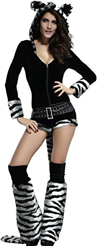 IF FEEL Womens Sexy Halloween Masquerade Cosplay Animal Costume (M, LC8726-2)
