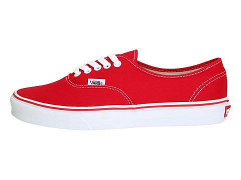 Authentic Unisex Red DX Perf Square Skate Vans Shoe 1TqA6A