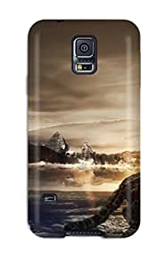 Cleora S. Shelton's Shop 9611595K41520198 Protective Case For Galaxy S5(cute Friends)