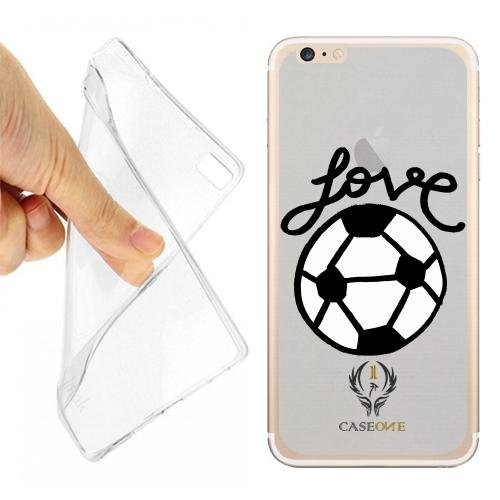 CUSTODIA COVER CASE CASEONE AMORE PER IL CALCIO PER IPHONE 7 OPACO