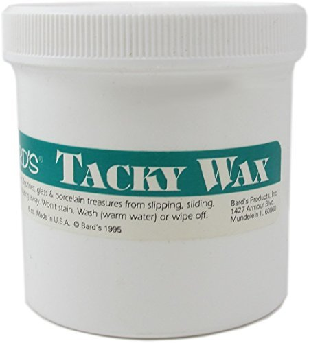 (Tacky Wax Keeps Collectibles Safe and Secure - 6 Oz. Tub)