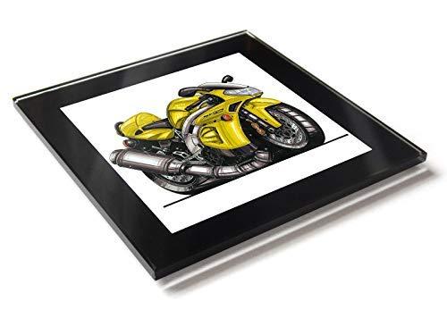 Koolart - Posavasos de cristal para motocicleta Aprilia ...