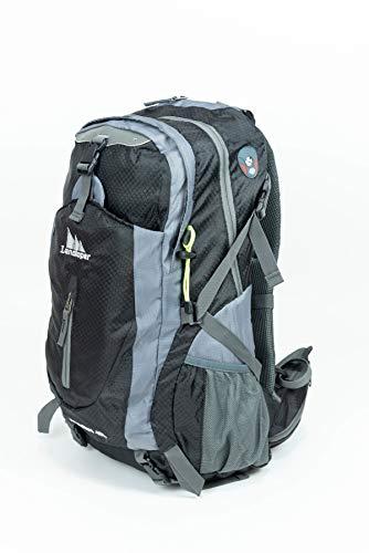 HuGGy Bags & Babies Ultralight Hiking Daypack for Women, Men | Packable Daypack Hiking, Trekking, Camping | 30 Liter Size Holds Essentials, Snacks | Breathable Comfort Straps Fully Adjustable | Black