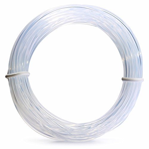Hang Invisible Wire (Picture Hanging Wire, Artwork Hanger, Clock, Picture Frame Hook, Paintings, Photos, Mirrors, canvas, paintings, 15' roll, Pack of 1)