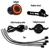 YOSKY Smart Bike Tail Light Sensing Rear