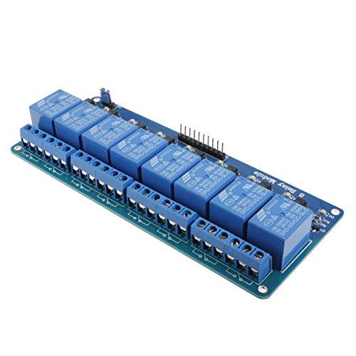 QOJA geekcreitu00ae 5v 8 channel relay module board for arduino