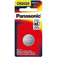 Panasonic Battery 3V (1 Pack), (CR-2025PG/1B)